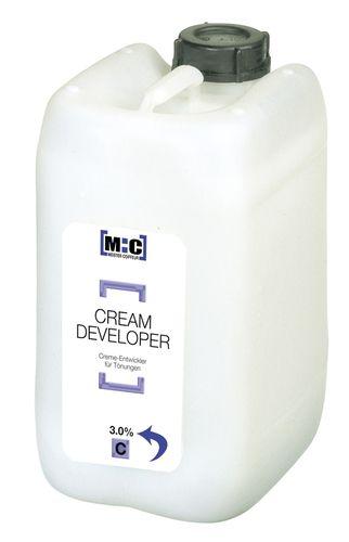 MC Cream Developer 3.0 C für Tönungen - 5 Liter